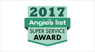 2017 AMNGIE'S LIST SUPER SERVICE AWARD